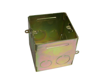 Iron square type junction box