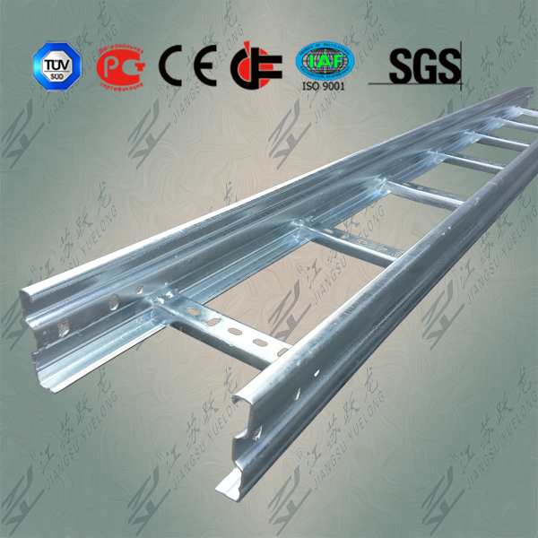 HDG Steel Ladder Tray OEM with UL, CE, GOST, TUV