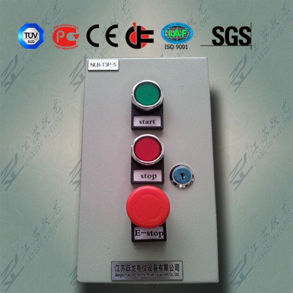 IP65 Electrical Button Box with CE